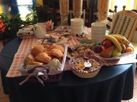 Locanda Milano 1873 : Frukosten, endast 1 sorts bröd :(