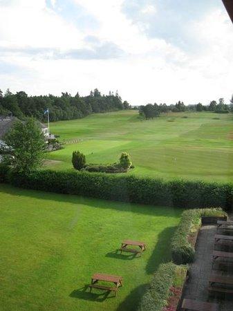 View from Glenesk Hotel