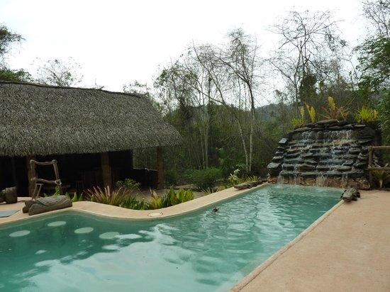 Mariposa Jungle Lodge: poolside