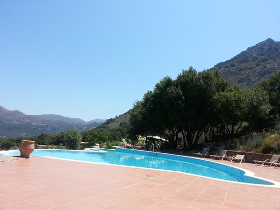 Country Hotel Velani: The pool