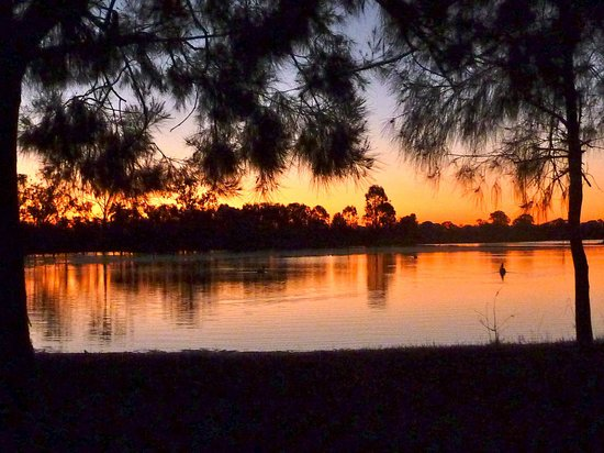 Sunset at the Rockhampton Botanic Gardens Lagoon