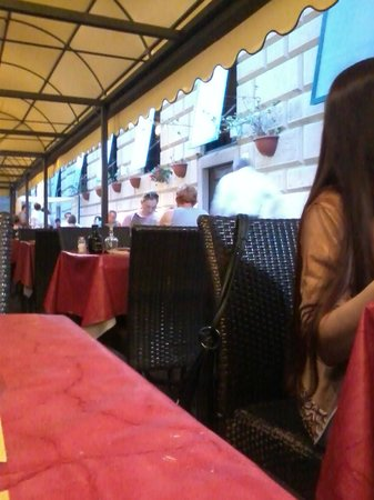 Babbo's : Cena all'aperto