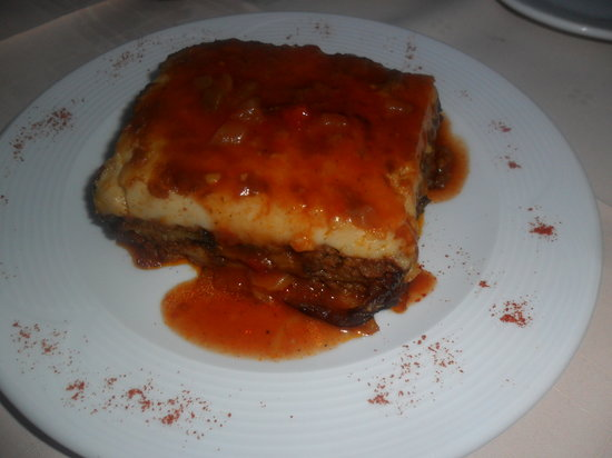 Memories Restaurant: mousaka