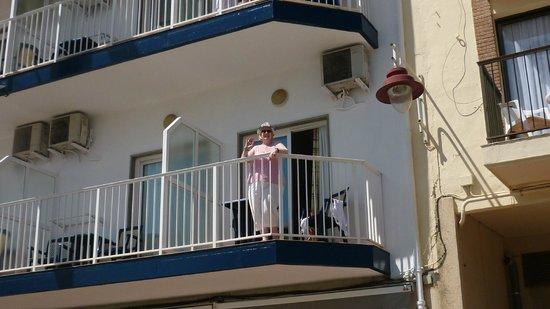 Port Mar Blau: Our balcony
