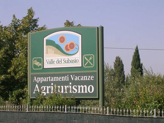 Valle Del Subasio : INSEGNA