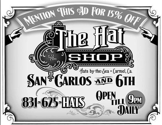 ‪The Hat Shop Carmel‬