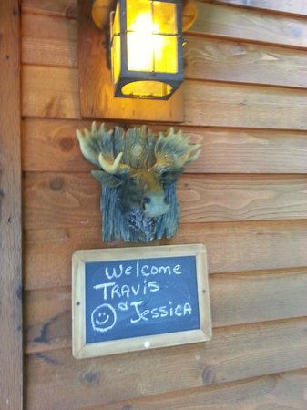 Eureka Sunset Cabins: Moose Recluse Welcome