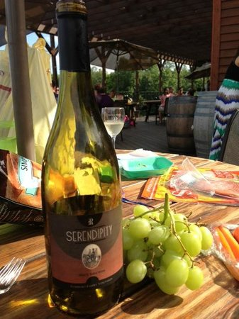 Robibero Family Vineyards: Serendipity
