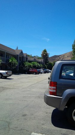 Good Nite Inn - Calabasas: Hotel and car park