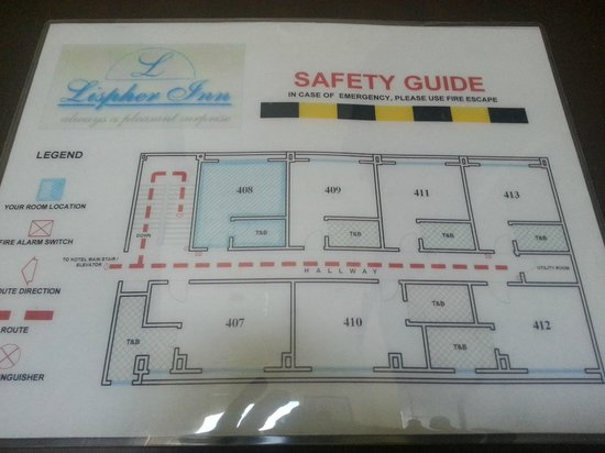 Lispher Inn : Safety Guide
