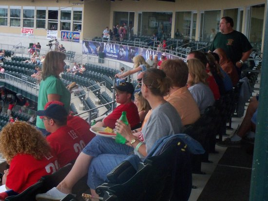 Coca-Cola Park : Party Porch Seating