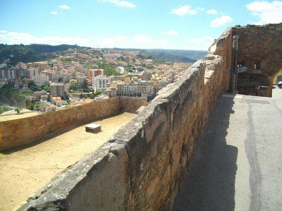 Parador de Cardona: Cardona from the castle