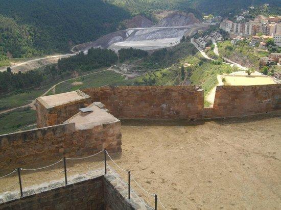 Parador de Cardona: Ancient Roman salt mine from the castle