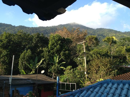 Pousada Telhado Azul: View from balcony