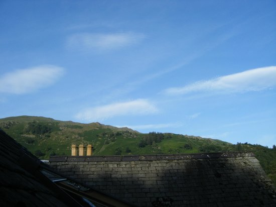 The Wordsworth Hotel and Spa: view from roof window