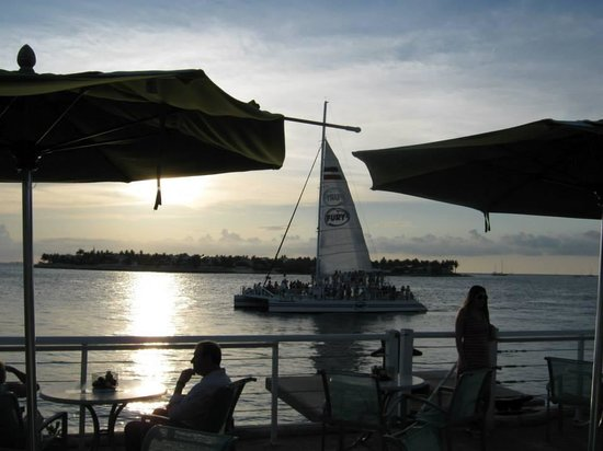 The Grand Guesthouse: Beautiful sunset at Mallory Square