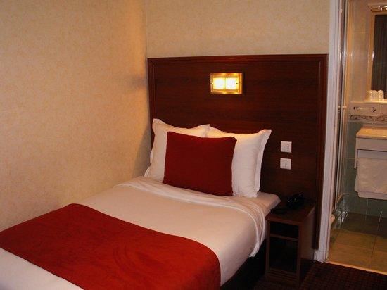 Hotel Terminus Lyon : Chambre Single