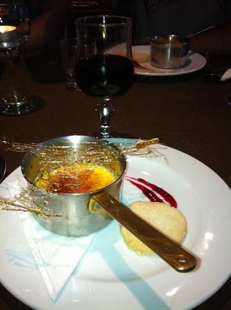 Chalet Hotel Ambassador: fantastic food from John the chef