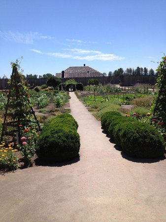 Fort Vancouver National Historic Site: Colonial garden