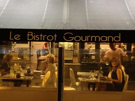 Le Bistrot Gourmand : main entrance