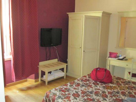 Hotel Savonarola: Bedroom