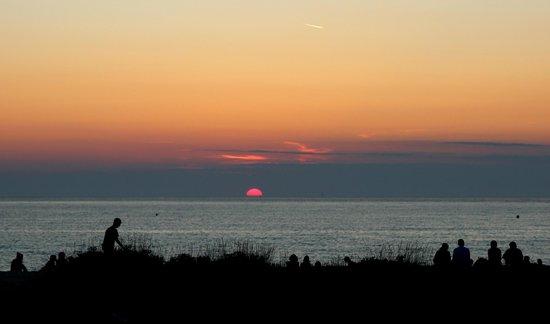 Camping de la Plage : tramonto