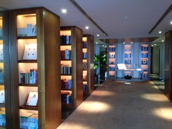 "Park Hyatt Tokyo: the ""library"""