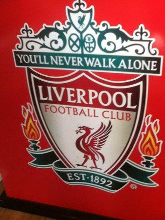 Anfield Stadium: Liverpool FC Smybol