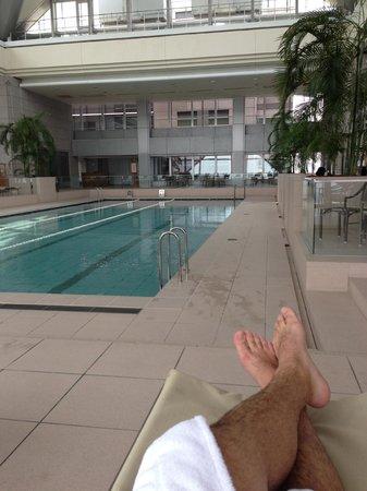 Park Hyatt Tokyo: amazing club pool