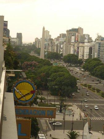 Eurobuilding Hotel Boutique Buenos Aires: Desde el 6° piso.