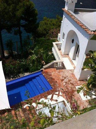 Villa Tre Ville : Nuestra habitacion desde la terraza