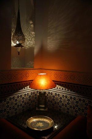 Riad Viva: Seating area