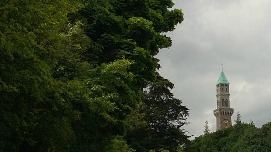 Farmleigh House and Estate : A clock tower, picture taken from near the car park
