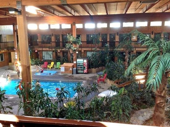 Super 8 Prince George: Main pool area