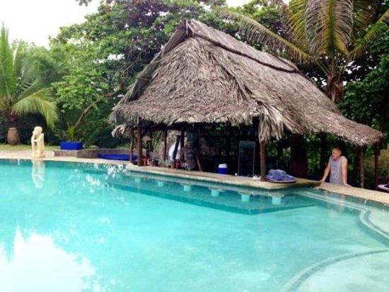 Popa Paradise Beach Resort: swim up bar at the pool