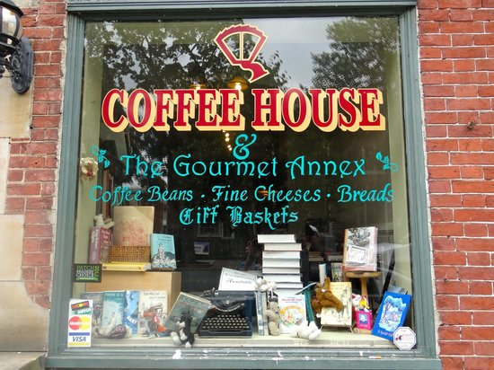 Window of Quadrant Book Mart & Coffee House