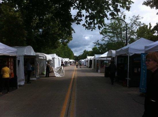Downtown Geneva Historic Shopping District: Geneva's Arts Fair
