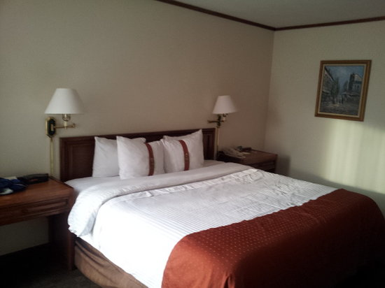 Holiday Inn Guatemala : comfortable bed
