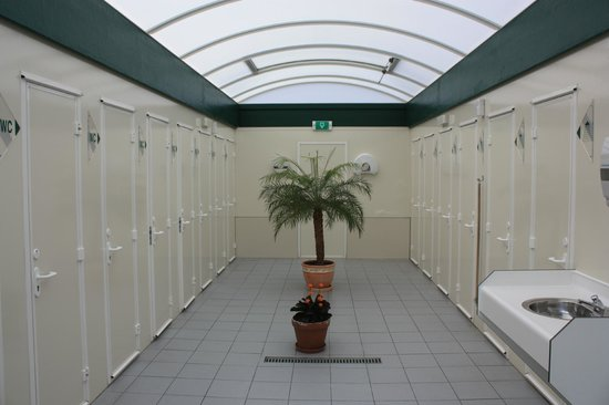 Camping Grimbergen: Sanitaire voorziening