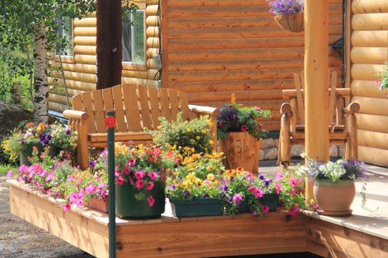 Spirit Lake Lodge : Flower Decor