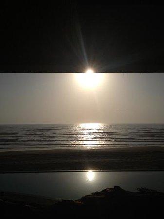 Isla Tajin Beach & River Resort: vista desde habitación vista al mar