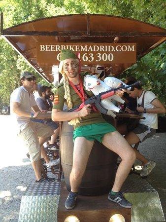 Beerbikemadrid. Com : despedida en aranjuez