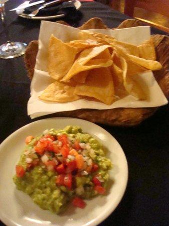 Mayan Bistro: my favorite, guacamole