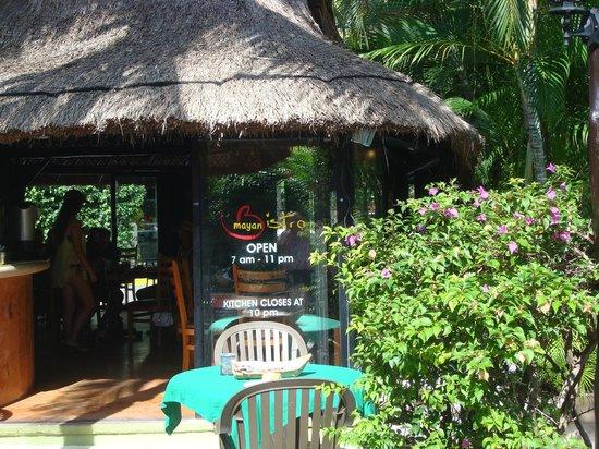 the Mayan Bistro