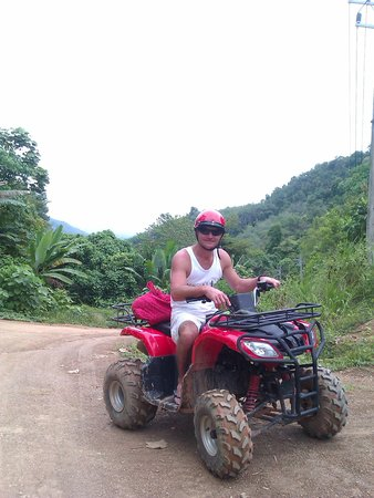 Paradise KohYao: ATV around the island. Take a map and backpack for goodies