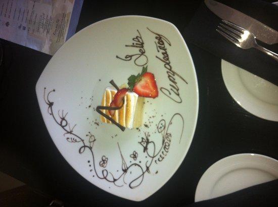 Happy Birthday Kim Picture Of Live Aqua Beach Resort Cancun