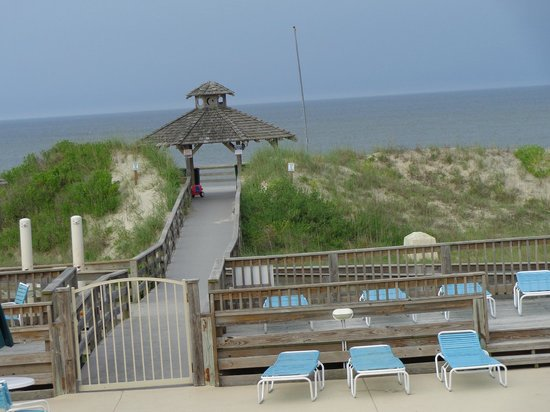 Oceanfront Grille : view from the table