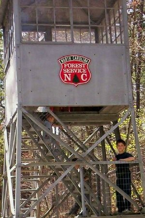Clemmons Educational State Forest : Clemmons Park Fire Tower
