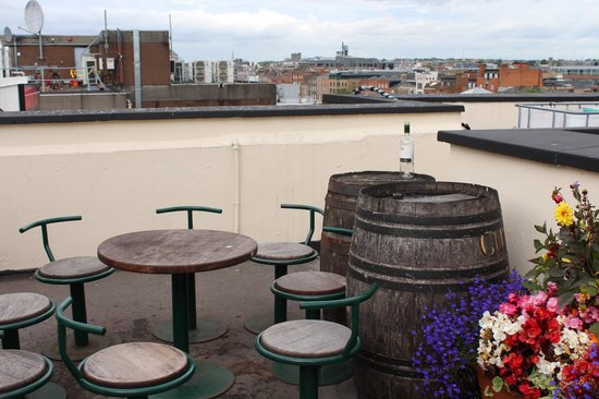 Oliver St. John Gogarty's Hostel: Penthouse relaxing area