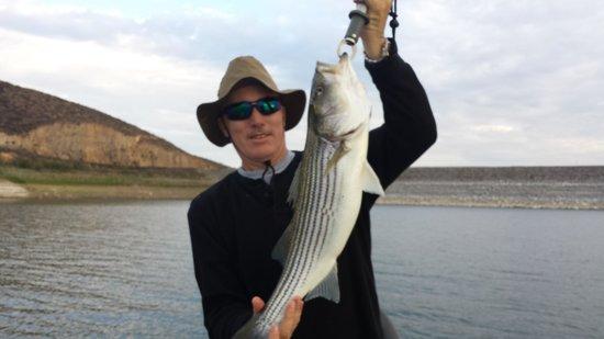 Diamond Valley Lake: dvl striped bass..summer 2013